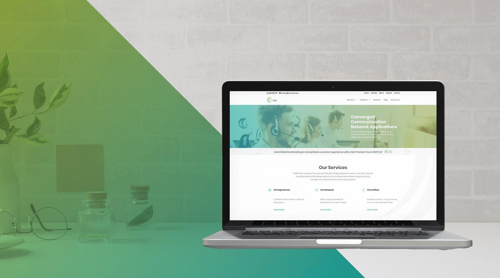 CCNA rebrand, new visual identity, and website.
